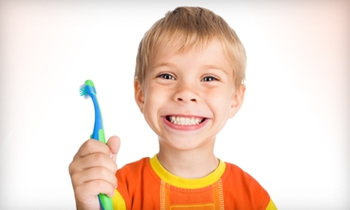 Kids Care Dental Group - Multiple Locations: $20 for a New-Patient Exam, X-rays, Cleaning, and Fluoride Varnish at Kids Care Dental Group (Up to $262 Value)