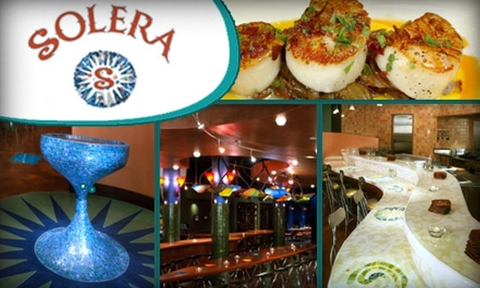 Solera Restaurant - Downtown West: $20 for $50 Worth of Spanish Tapas at Solera Restaurant