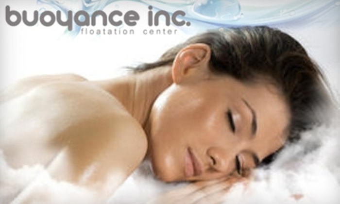 Buoyance - Huntersville: $45 for a 30-Minute Massage and One Hour of Floatation Therapy at Buoyance in Huntersville ($110 Value)