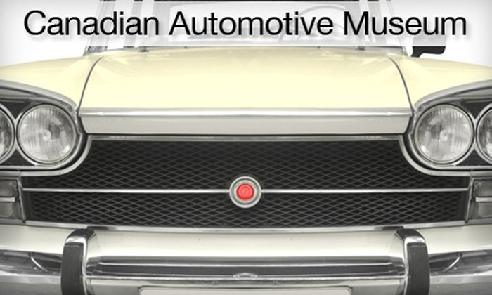 Canadian Automotive Museum - Toronto (GTA): $5 for Two Admissions to Canadian Automotive Museum ($10 Value)