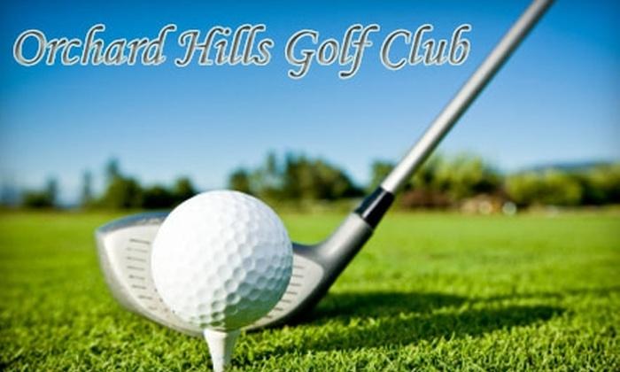 Orchard Hills Golf Club - Newnan: $45 for 18 Holes of Golf for Two Plus Cart Rental at Orchard Hills Golf Club
