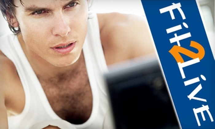 Fit2Live - Roosevelt: $65 for Four Weeks of Beach Body Bootcamp Classes at Fit2Live (Up to $165 Value)