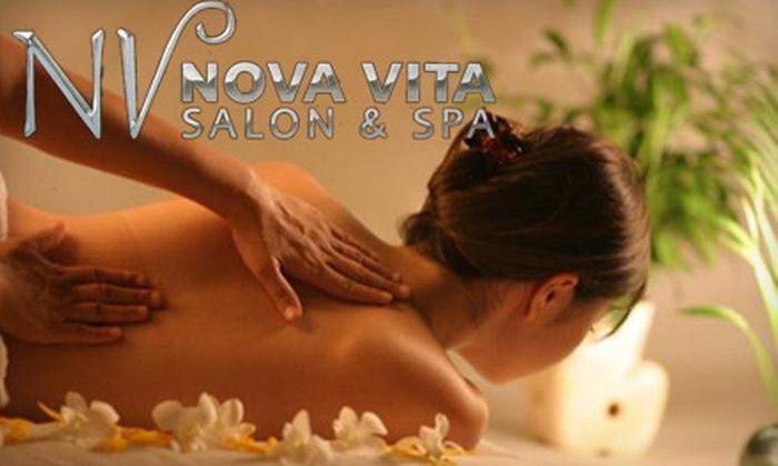 Nova Vita Salon & Spa - Tustin: $59 for Facial and Swedish Massage from Nova Vita Salon & Spa ($118 Value)