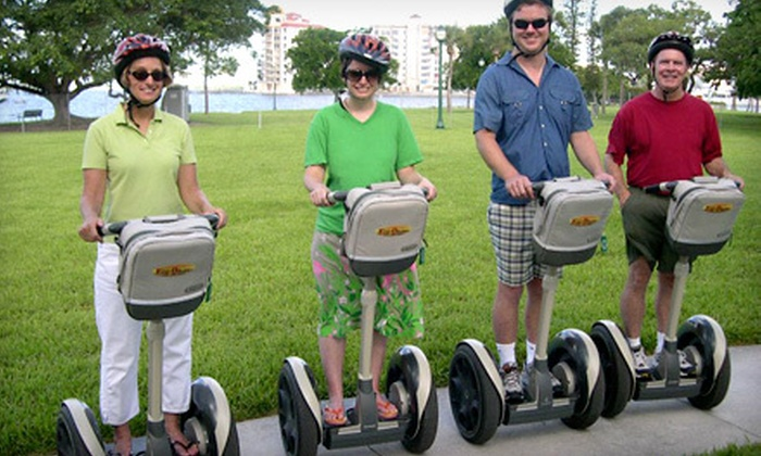 Half Price Tour Tickets - City Center: $25 for a Two-Hour Segway Rental from Half Price Tour Tickets in Miami Beach (Up to $50 Value)