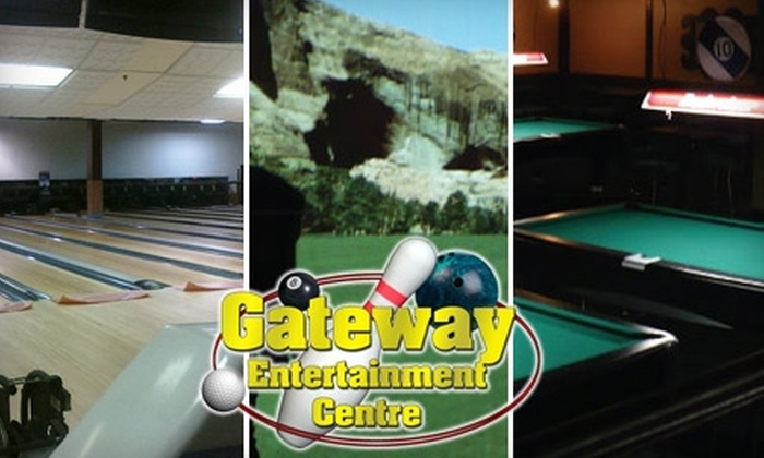 Gateway Entertainment Centre - Calgary Trail South: $10 for $25 Worth of Freewheeling Fun and Games at Gateway Entertainment Centre