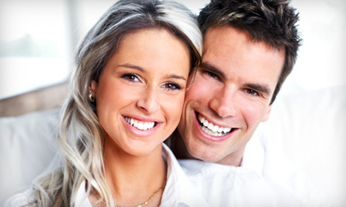 Beaming White - Multiple Locations: 30-Minute Teeth-Whitening Session or 45-Minute Session with Maintenance Pen at Beaming White