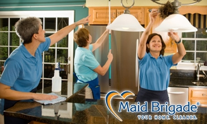 Maid Brigade - Greenvale: $30 for One Hour of Professional Green Cleaning From Maid Brigade ($70 Value)