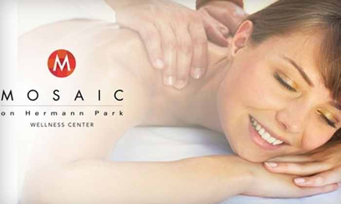 Mosaic Wellness Center - Greater Third Ward: $62 for One-Hour Swedish Massage and 30-Minute Stretch Therapy Session at Mosaic Wellness Center ($125 Value)