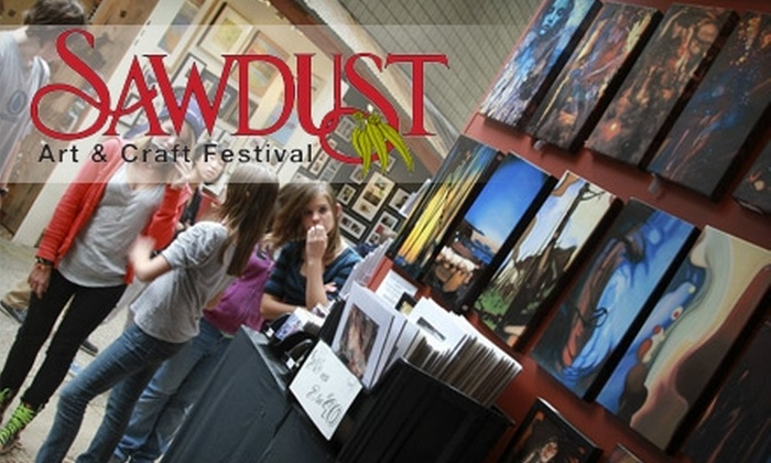 Sawdust Art Festival - Laguna Beach: $4 for a One-Day Adult General Admission Ticket to the Sawdust Art Festival ($7.75 Value)