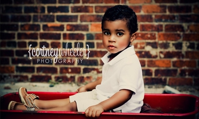 Cortney Wheeler Photography - Chattanooga: $60 for On-Location Photography Session Plus DVD Slide Show with Cortney Wheeler Photography ($250 Value)