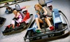SpeedZone - Rowland: Recreational Package for One or Two with Go-Karts, Mini-Golf, Gaming, and Meals at SpeedZone in City of Industry