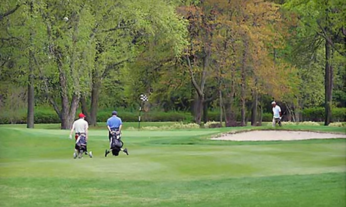 Emerson Golf Club - Emerson: 18 Holes of Golf, Cart Rental, Range Balls & Lunch. Packages for Two and Four People Available.
