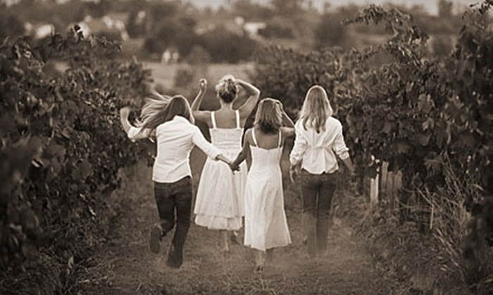The Four Graces - Dundee: $40 for a Wine Tasting for Four Plus $40 Credit Toward Bottled Wine at The Four Graces in Dundee ($80 Total Value)