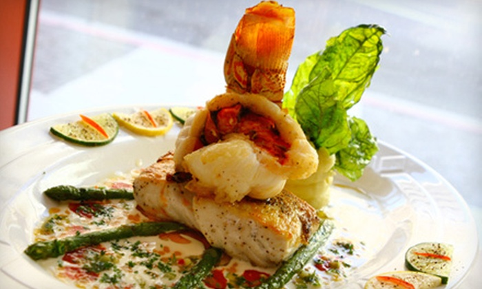 Hexagone - Park West: $25 for $50 Worth of Upscale French Cuisine at Hexagone