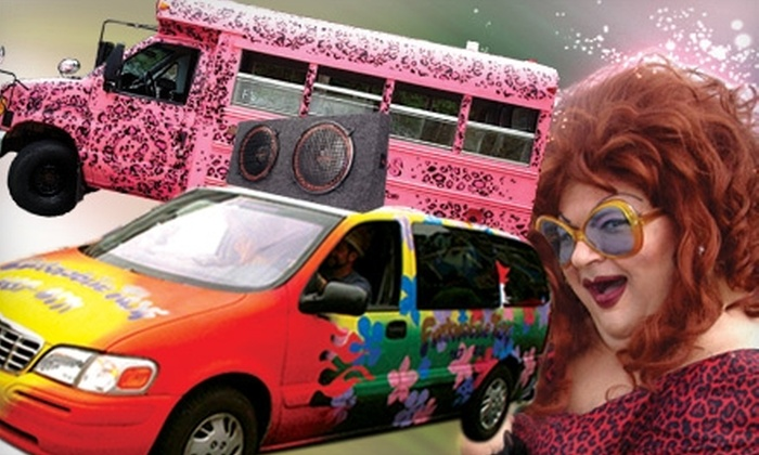 Funk Mobile - Provincetown: $300 for Four Hours of Party-Bus Service for Up to 14 People from Funk Mobile (Up to $600 Value)
