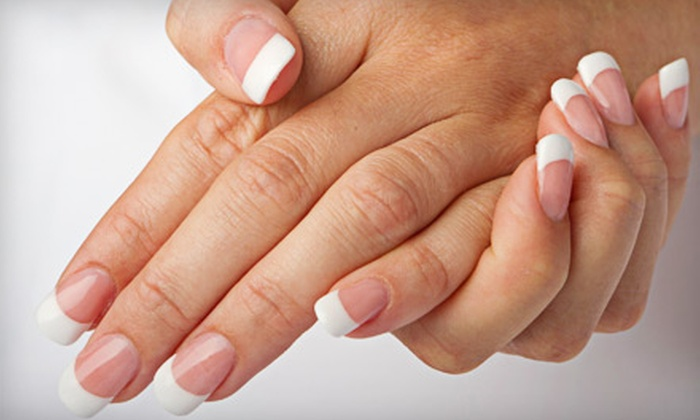 Trio Salon - Mill Valley: $20 for a Shellac French Manicure at Trio Salon in Mill Valley ($40 Value)