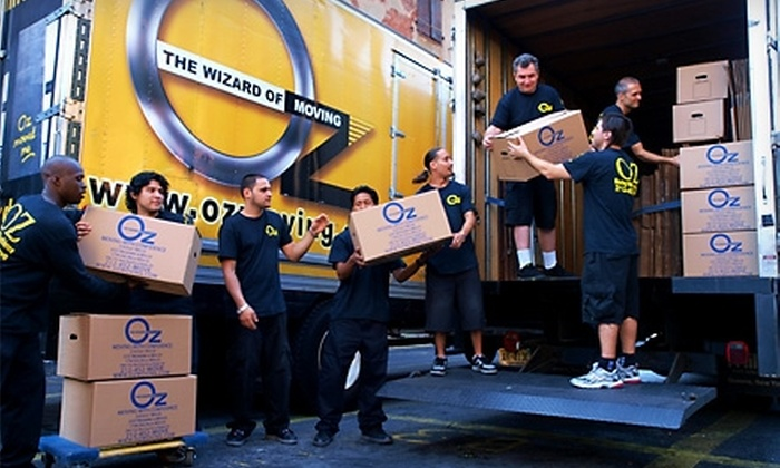 Oz Moving U0026 Storage: $54 For One Hour Of Moving Services From Oz Moving U0026