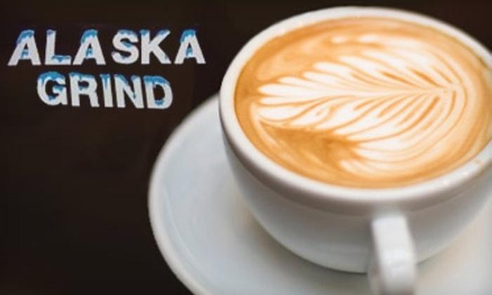 Alaska Grind - Midtown: $10 for a $20 Coffee Card at Alaska Grind