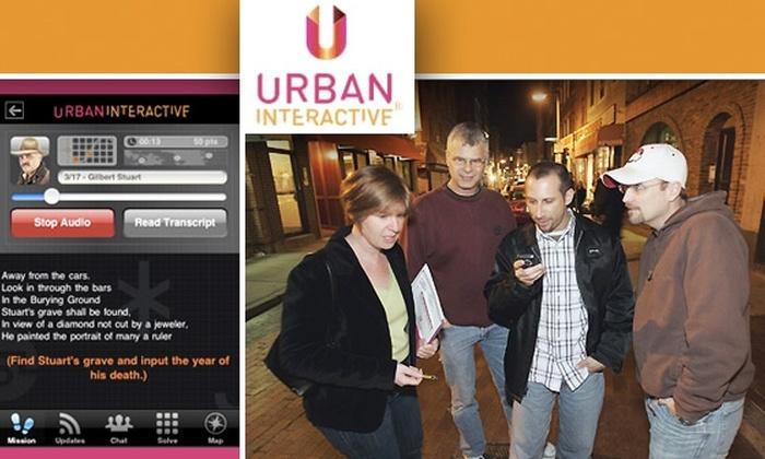Urban Interactive - Boston: Five-Person Urban Sleuth Adventure with Urban Interactive