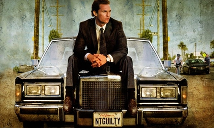 """The Lincoln Lawyer"": $6 for One Ticket to ""The Lincoln Lawyer,"" Starring Matthew McConaughey"