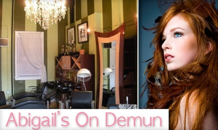 Abigail's on Demun - Pocahontas: $19 for a Custom Conditioning Treatment, Waxing, and Blow-Out at Abigail's on De Mun