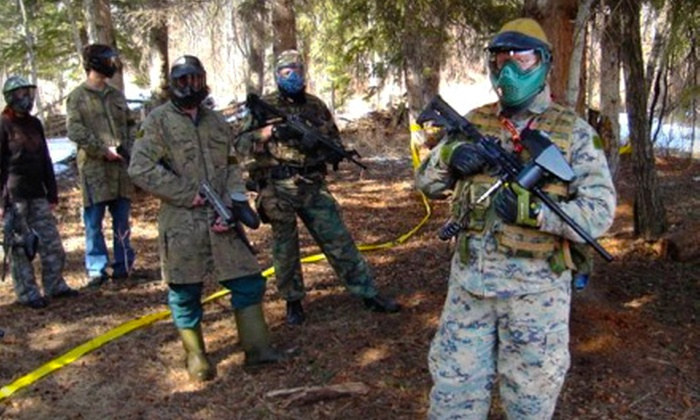 Quest for Adventure - Coronado: $35 for a Paintball Outing for Two at Quest for Adventure in Coronado ($70 Value)