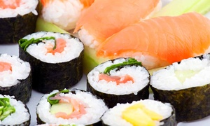 Sushi Bar: Japanese Dinner for Two or Take-out at Sushi Bar (Up to 45% Off)
