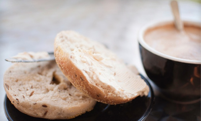 StingRay Cafe - Lloyd District: $12 for Five Visits for a Bagel and Coffee at StingRay Cafe (Up to $28.75 Value)