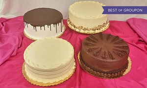 "SugarBakers Cakes: $30 for a 10"" Cake at SugarBakers Cakes ($45 Value)"