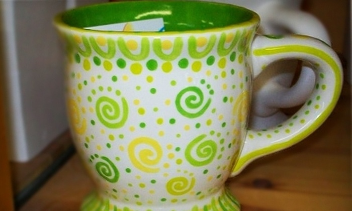 The Pottery Paintin' Place - Lunenburg: Pottery-Painting Party for 10 or $15 for $30 Worth of Paint-Your-Own Pottery at The Pottery Paintin' Place in Lunenburg