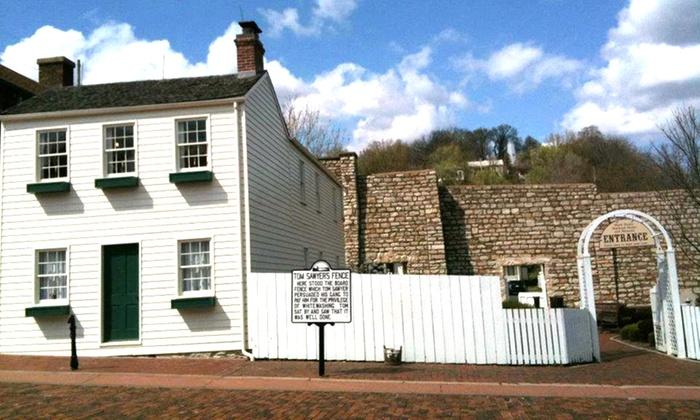 Mark Twain Boyhood Home & Museum - Hannibal: Mark Twain Boyhood Home & Museum Visit for Two or Four or a One-Year Family Membership (Half Off)