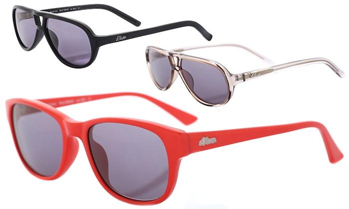 Sonnenbrille Schwarz 98949-600 s.Oliver Kinder