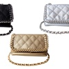 Olivia Miller Quilted Chain Mini Crossbody Bag