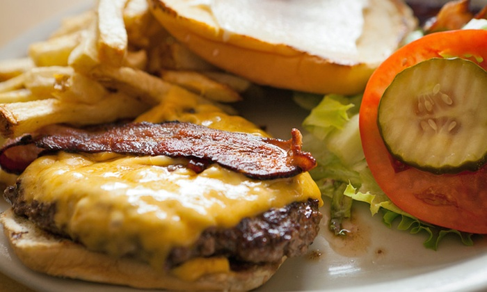 Giant Orange - Arden - Arcade: Burgers for Two or Four at Giant Orange (Half Off)