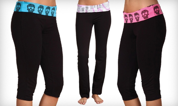 Capri or Long Yoga Pants | Groupon Goods