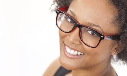 Washington DC: Prescription Eyewear with Optional Exam at Luxoptics and Eyeland (Up to 88% Off)