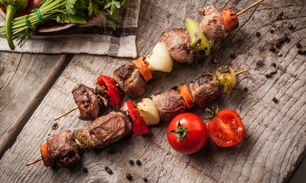 Three-Course Turkish Meal for Two or Four at Turkish Meze Bar and BBQ (Up to 50% Off)