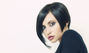 Unique Salon: Haircut Package with Optional Single Process Color or Highlights at Unique Salon (Up to 56% Off)