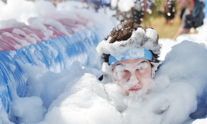 B Extreme Events - Tumbleweed Park: Registration for One or Two for 5K Foam Fun Run from B Extreme Events on Saturday, October 24 (Up to 55% Off)