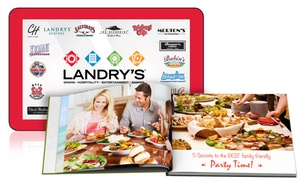 "Landry's and Printerpix: One $50 Landry's Restaurant eGift Card and One 8""x6"" Custom Photo Book from Printerpix ($74.99 Value)"