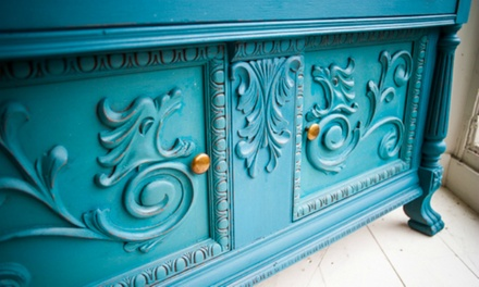 Milk-Paint or Chalk-Paint Class, or Private Workshop at Frosty by Design (Up to 53% Off)