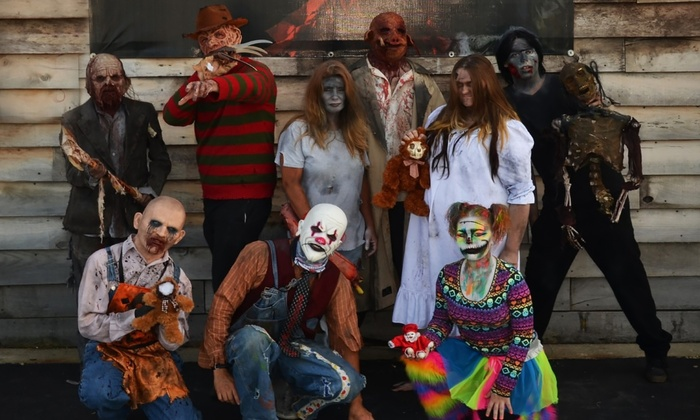 Haunted Angelus House - Raymond Park: $35 for Two Unlimited Passes to Haunted Angelus House ($70 Value)
