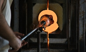 Aaron Thane Tate Glassworks: BYOB Glass-Blowing Workshop for One, Two, or Four from Aaron Thane Tate Glassworks (Up to 50% Off)