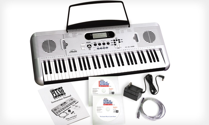 eMedia Play Piano Pack Deluxe: $114.99 for eMedia Play Piano Pack Deluxe with Keyboard ($299.95 List Price). Free Shipping.