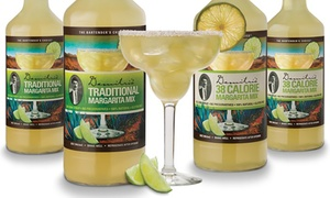 Demitri's Traditional or Low-Cal Margarita Mix (4-Pack)