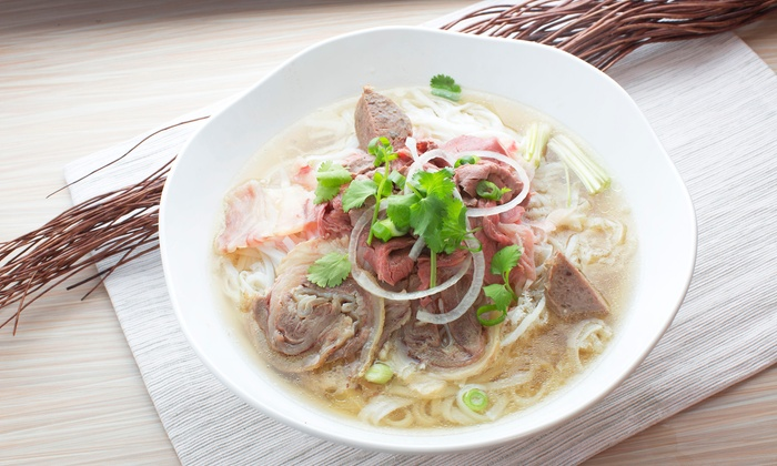 Cali Noodles & Grill - Orange: Vietnamese and Chinese Food at Cali Noodles & Grill (30% Off). Two Options Available.