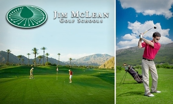 Jim McLean Texas Golf Center - Links At Waterchase: $50 for a One-Hour Private Golf Lesson, Large Bucket of Balls, and Choice of Wedge or Golf Shirt at Jim McLean Texas Golf Center