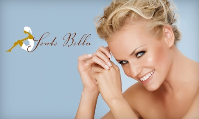 Sente Bella Day Spa - Horton Plaza: $49 for $120 Worth of Spa Services at Sente Bella Day Spa