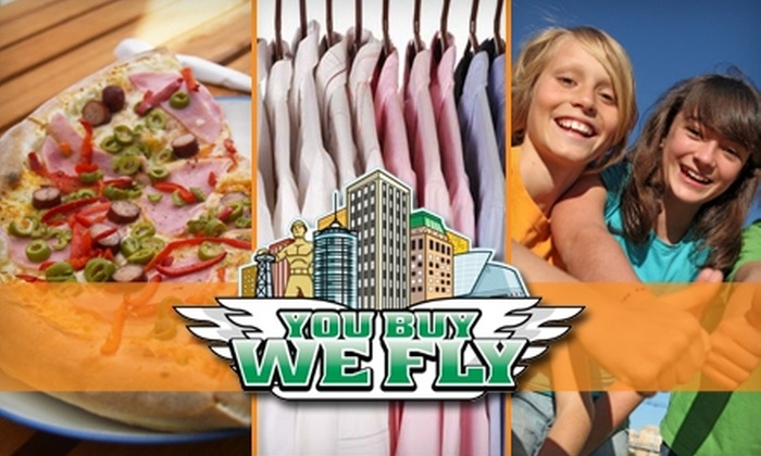 You Buy We Fly - Tulsa: $10 for Two Deliveries from You Buy We Fly (Up to $28 Value)