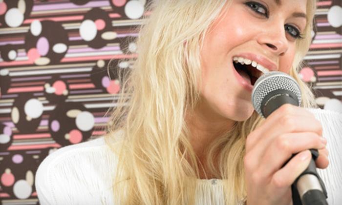 Sakura Karaoke Lounge - Armour Square: Karaoke Outing for 4, 8, or 12 with Drinks, Appetizers, and Seating at Sakura Karaoke Lounge (Up to 51% Off)